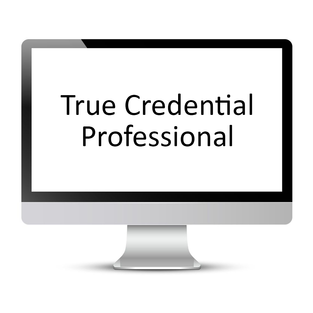 True Credential Professional